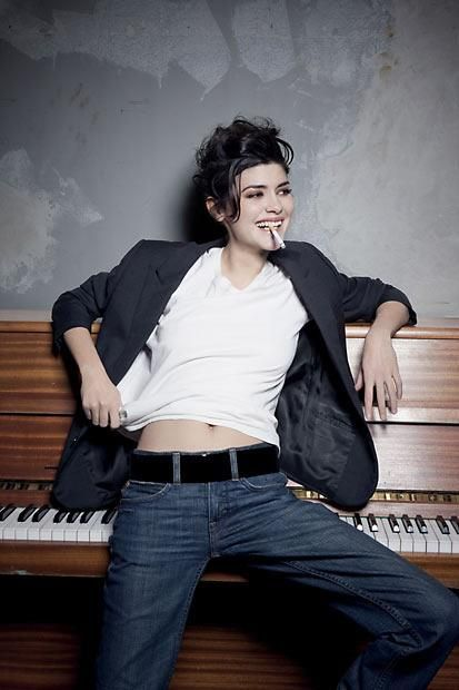 Audrey Tautou. Amazing actress and so beautiful and cool.