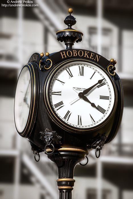 Hoboken Street Clock - http://andrewprokos.com/photos/locations/new-jersey/