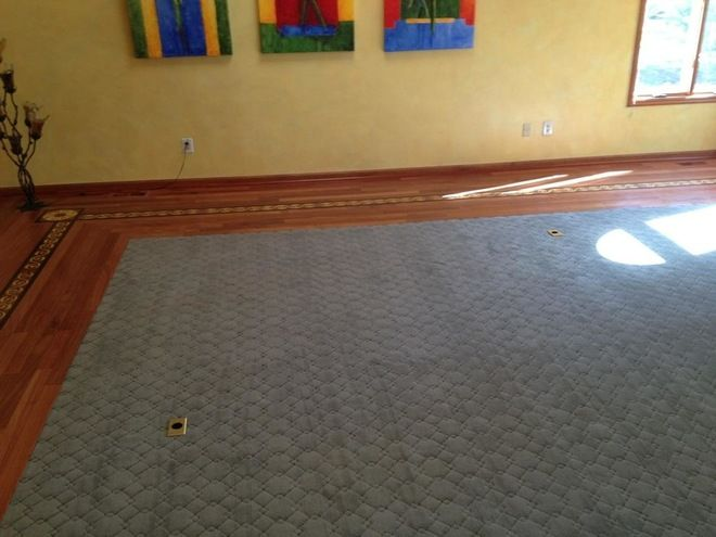 Inlaid carpet designs floor matttroy for Inlaid wood floor designs