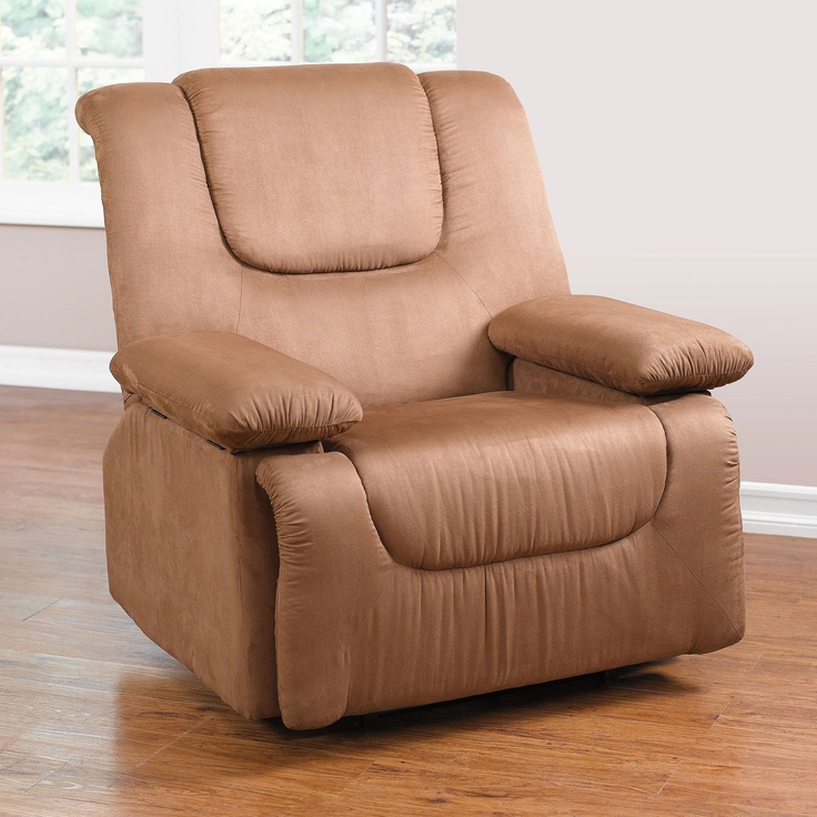 Plush Extra Wide Recliner With Storage Arms | Chairs + Furniture | Brylanehome & 324 best