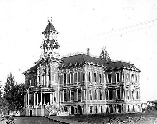 East School in Salem, Oregon, 1886 :: Special Collections