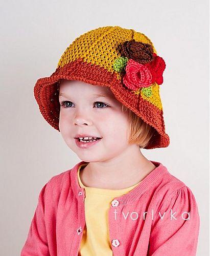 Ravelry: Flowery hat pattern by Ivana Jackova