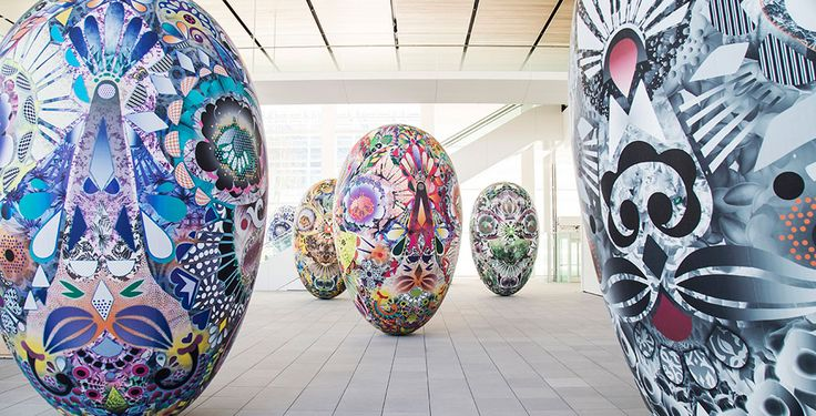 Инсталляция Марселя Вандерса для японского музея OPAM