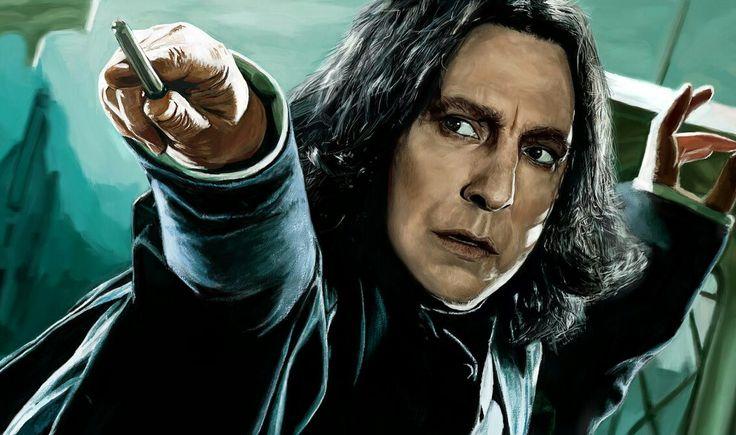 Severus Snape eerste foto