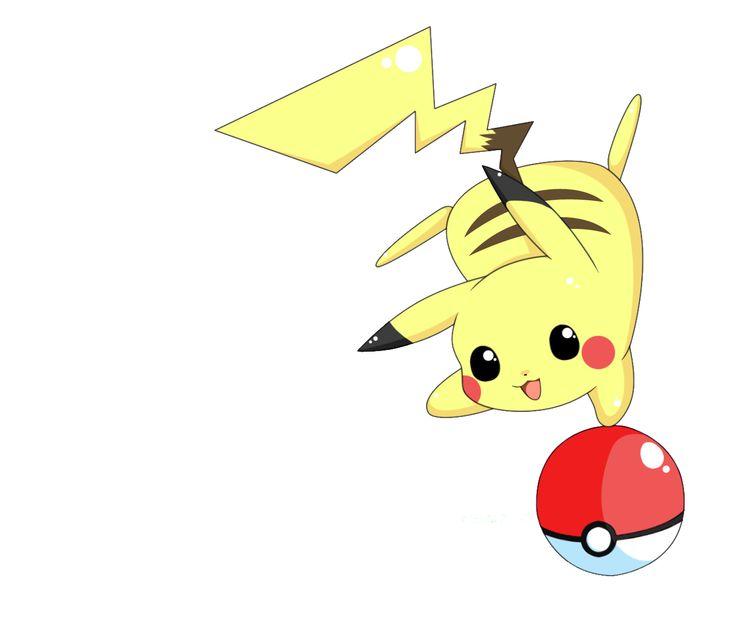 pikachu   Render Pikachu Pokeball Pokemon - Pokemon - Animes et Manga - PNG ...