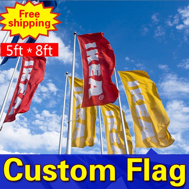 8ft*5ft Freeshipping Custom Flags  Single Sided Flag Any size Any Color  Any Logo  FlagsSport Flags Corporate Flags  8ft*5ft