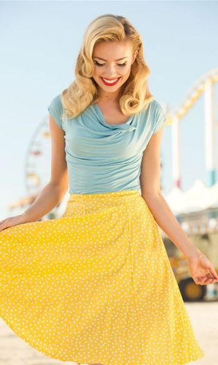Lemon Drop Skirt - Shabby Apple