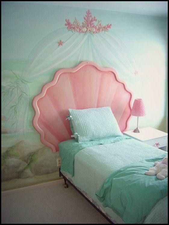 Mermaid bedroom idea
