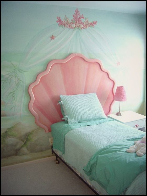 Mermaid Bedroom Idea. | Bedroom Decor In 2018 | Pinterest | Mermaid  Bedroom, Mermaid Room And Room