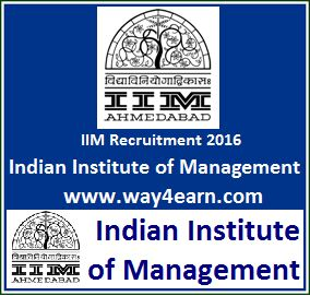IIM Recruitment 2016 for Various Faculty. Indian Institute of Management (IIM) announced recruitment of Chaired Faculty Position and various Faculty Posts of Finance and Accounting, Economics, Human Resources Management, Information Systems, Managerial Communication, Marketing, Operations Management, Organizational Behavior and Strategic Management.