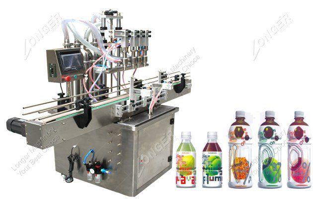 Semi Automatic Carbonated Filling Machine Carbonated Soft Drinks Carbonate Filling