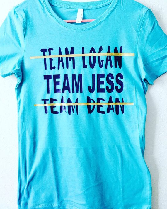 Gilmore Girls Team Dean Team Jess Team Logan Rory by giggletee