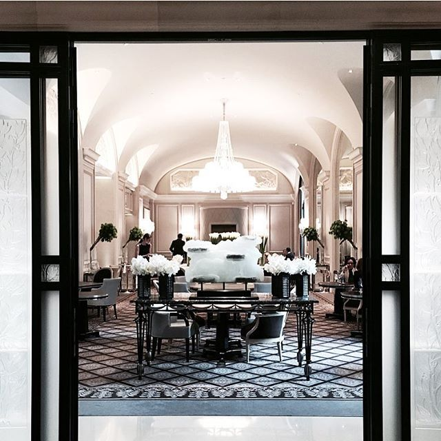 Restaurant Le George  @fsparis #legeorge #georgeV #restaurant #paris #lauralovesfood