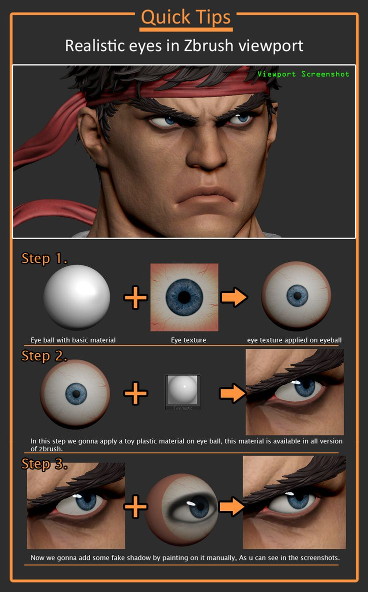 80.lv articles quick-guide-realistic-eyes-in-zbrush