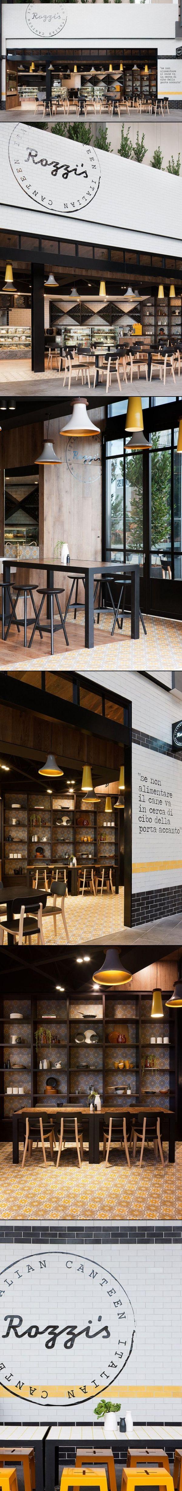 Rozzi's Italian Canteen | Melbourne | Mim Design