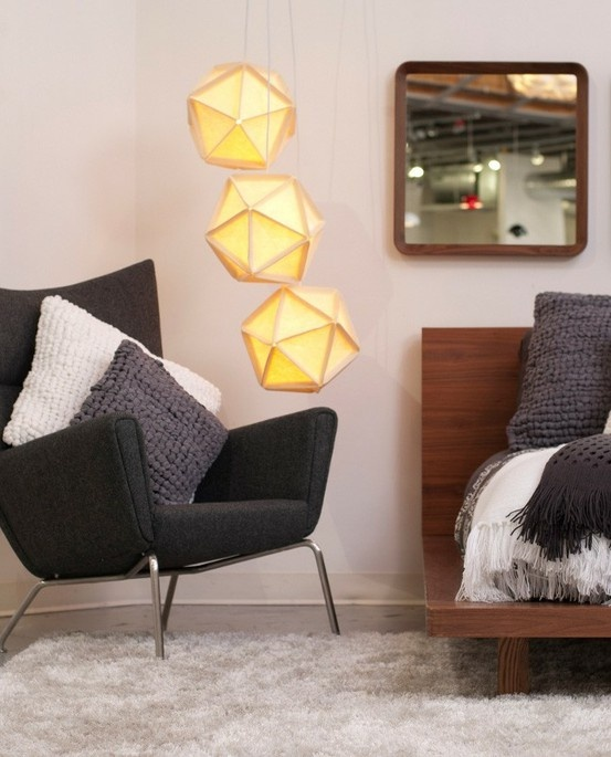 Soft Felt Lamps By Ross Menuez Inspired By Buckminster Fulleru0027s Legendary  Geodesic Dome, On Sale