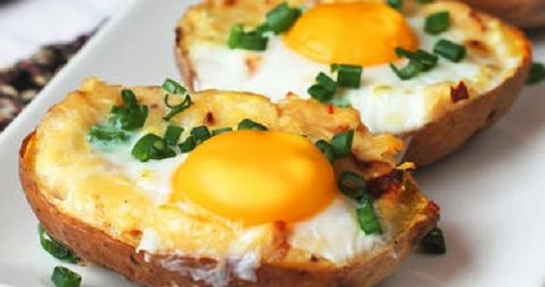 Pommes de terre et oeufs! Une recette facile