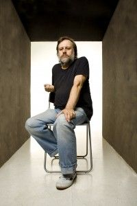 Slavoj Zizek is a Slovenian philosopher. He first came to attention in the west with the publication in 1989 of The Sublime Object of Ideology, and has since become famous for his charismatic personality and his work which fuses complex continental philosophy with pop culture.