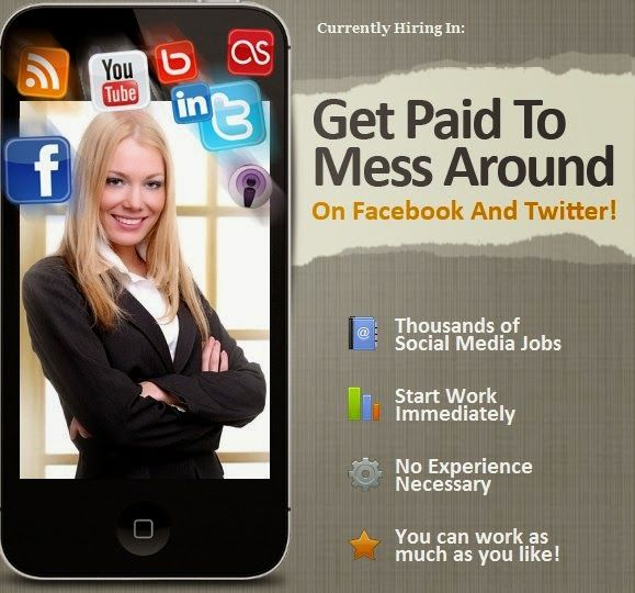 Find out how you can earn money easily from just messing around on Facebook or other social media http://tinyurl.com/ppoaezz