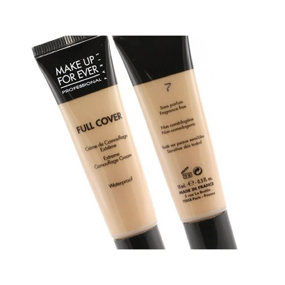 Makeup Forever Full Cover Concealer New in the box. Never used. Shade is #7 color sand. Unfortunately it's too dark for me and I don't have the receipt to exchange it. Makeup Forever Makeup Concealer