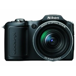Nikon Coolpix L100 10 MP Digital Camera with 15x Optical Vibration Reduction (VR) Zoom  byNikon  3.8 out of 5 starsSee all reviews(157 customer reviews) | Like (17)    Available from these sellers.      6newfrom$338.00 15usedfrom$164.89