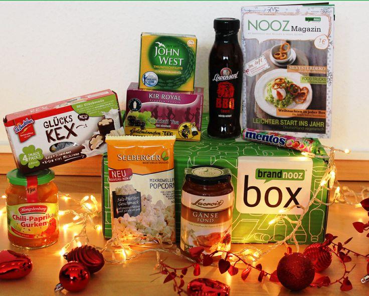 Die letzte Box des Jahres 2013 und somit der krönende Abschluss eines tollen Jahres mit vielen Leckereien. Wie hat Euch die Box gefallen? http://www.brandnooz.de/products/brandnooz-box-dezember-2013
