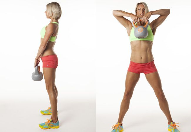 #Kettlebell exercises that will blast fat and tone up!