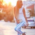 BABY-BLUE OBSESSION PART#2  , Louis Vuitton en Clutches, romwe en Camisas / Blusas, Motel Rocks en Pantalones, Topshop en Tacones / Plataformas, H en Gafas / Gafas de sol, Etro en Otras joyas / Bisutería