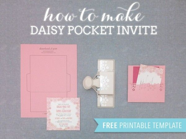 Download-and-Print-Daisy-Pocketfold-Free-Wedding-Template