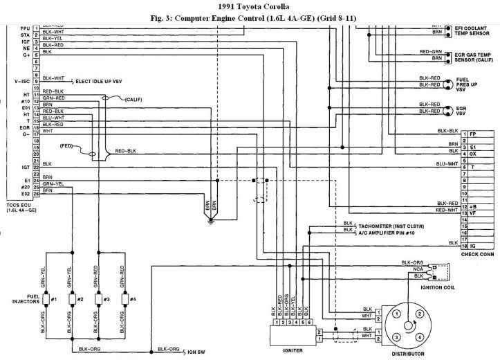 Toyota 5a Engine Wiring Diagram And Wiring Diagram And Ecu Control Box Number Electronic Schematics Diagram Toyota
