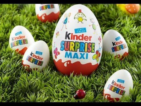 Kinder Surprise - 63 Play doh Kinder surprise eggs unboxing - Kinder sur...