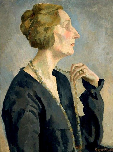Fry, Roger (1866-1934) - 1918 Portrait of Edith Sitwell.