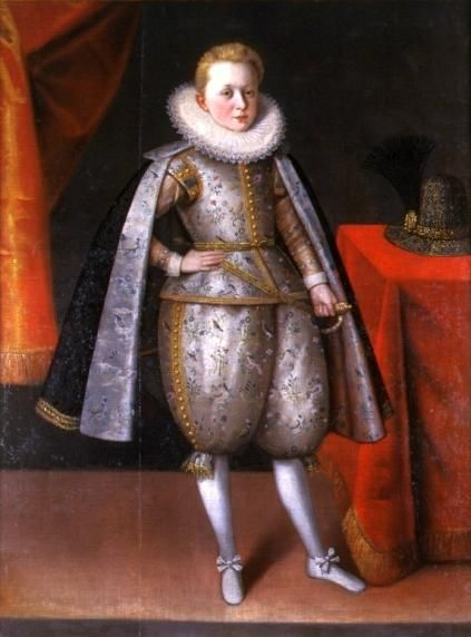 Prince Wladyslaw, aged about 10, ca. 1605