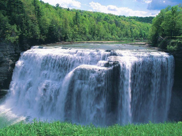 Letchworth State Park.  Castile, NY.  66 miles of trails.  (been there)