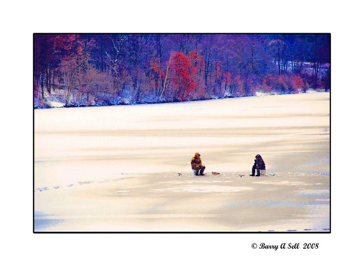 NIKS AAN Je moet wat als je slecht kunt skien, maar ijsvissen...