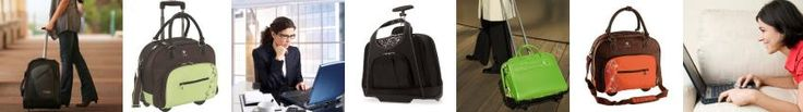 Nice guide on what to look for when buying a rolling laptop bag: fashion meets substance!