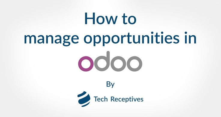Learn how to create opportunity using open source ERP, Odoo | Opportunity is a lead with whom you think that you can have more business.The Odoo CRM is one of such system which enables users to create beautiful opportunity easily.