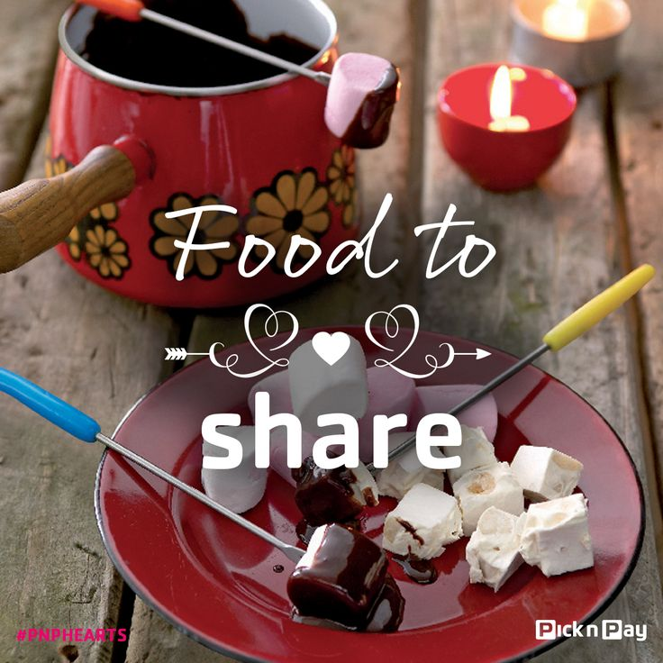 Got a choc-alot to share? Then whip up this choc fondue, for two. #picknpay #freshliving #dailydish