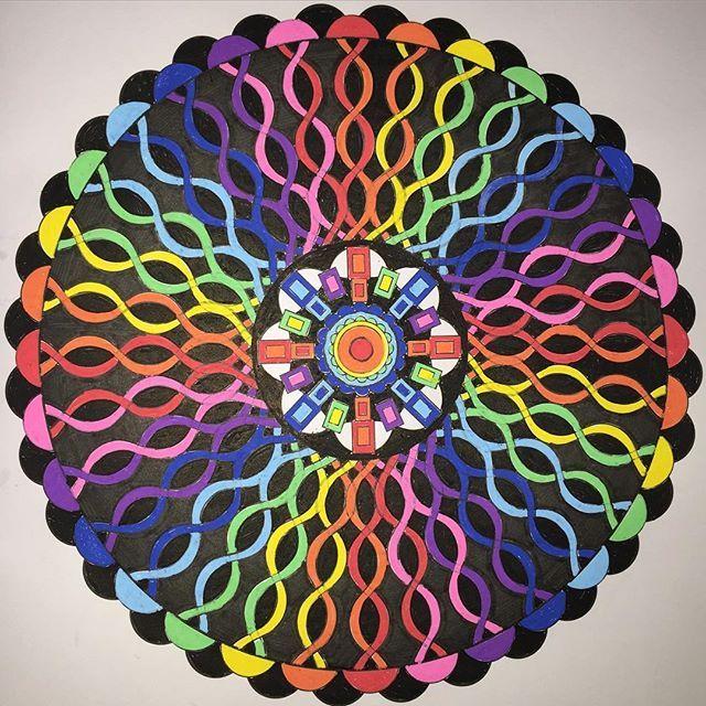 Do Livro Mandalas Fantasticas Da Jeneanmorrison Adultcoloringbook Art Coloring BooksColouringDesign