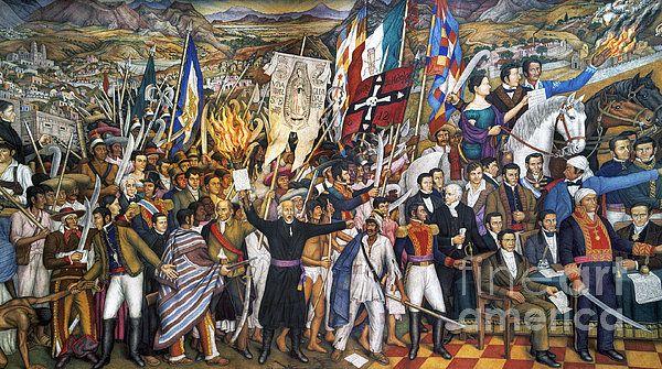 Mexico: 1810 Revolution - Granger by Juan O'Gorman 20th Century