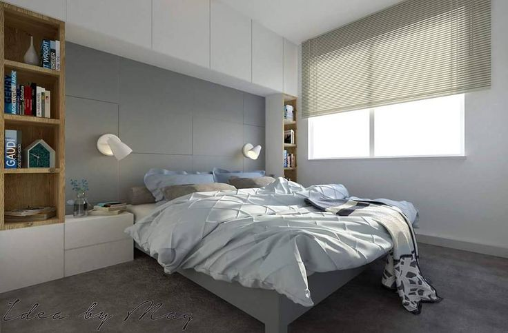 Przyszła pora na sypialnię w apartamencie dla dwojga na Pradze.  Główny cel i priorytet jaki obraliśmy z inwestorami to bardzo, bardzoooo dużo miejsca do przechowywania w każdej postaci! #sypialnia#łózko#mieszkanie#wnętrze#pokój#urządzanie#projektowaniewnetrz#projektantwnetrz#interiodesign#interiorstyle#interiordesigner#homedeco#home#homedesign#homedecoration