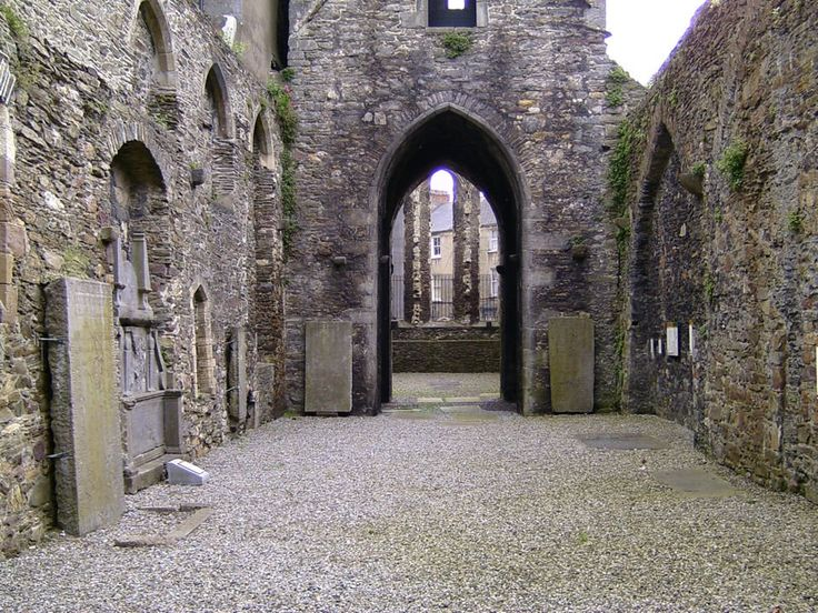 Ruined French Church, Greyfriars, Waterford