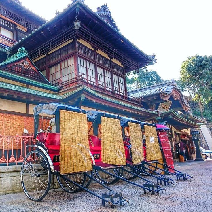 Dogo Onsen Honkan, Matsuyama. Ehime, Japan - The oldest hot spring in Japan