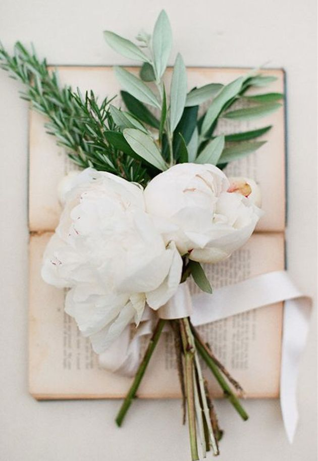 Fragrant, chic and symbolic, we've got a lot of love for wedding day herbs.