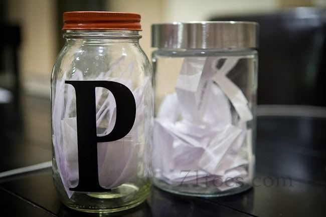 Job Jar: I like the funny jobs attached to regular ones to lighten up the mood. Use the jar for kids who are fighting, disobeying, forgetting their manners, teasing, etc.