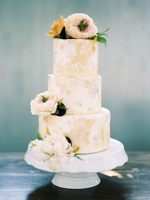 textured #wedding cake