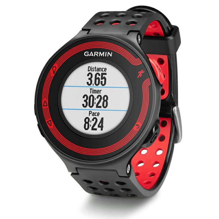 Garmin Forerunner® 220 HRM zwart/rood bij Hardloopaanbiedingen.nl. Hardloophorloge met gps en hartslagmeting. #Garmin #hardlopen