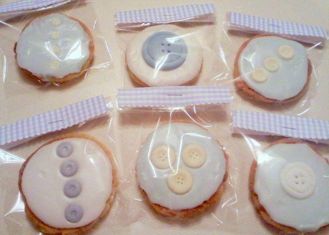 Cute as a button sugar  cookies