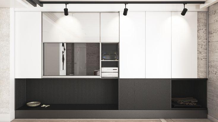 Dom w stylu modern | Opole | aranżacja wnętrz | troomono