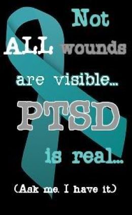 Not all wounds are visible. #PTSD  #trauma #recovery Healing Trauma by Peter Levine helped me with my PTSD that I suffered with for 35 years...Seek Hope & Peace.